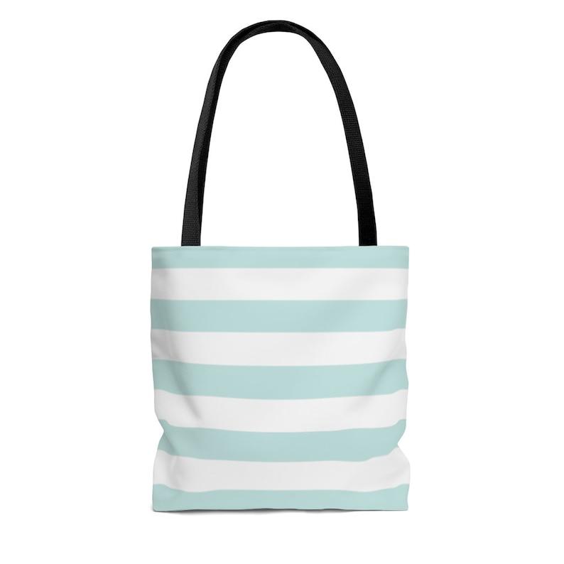 Blue Floral Stenographer keyboard Tote Bag