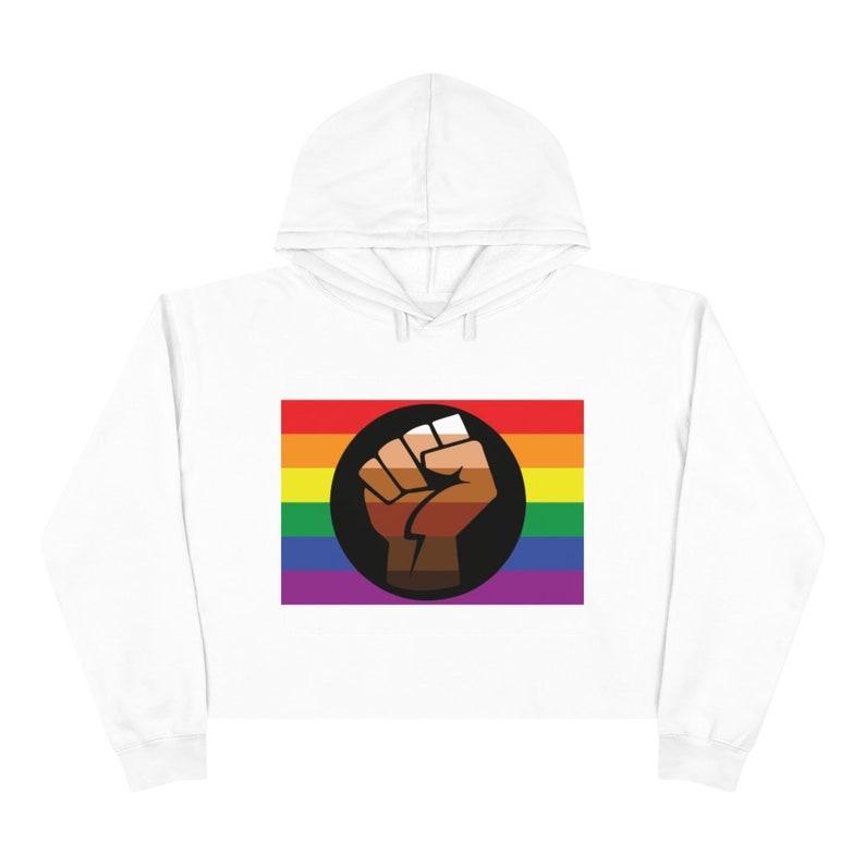 LGBTQ Pride Crop Hoodie