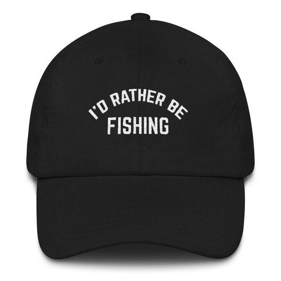 cd081789781 I d Rather Be Fishing Dad hat