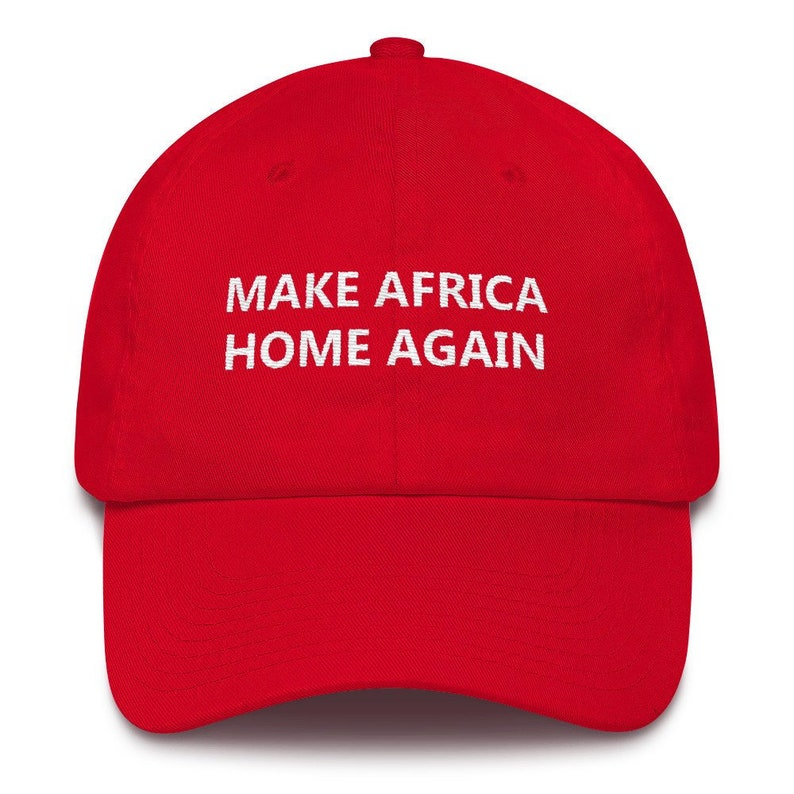 b1bae7e85 Make Africa Home Again Dad Cotton Cap