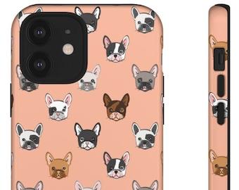 French Bulldog iPhone/Samsung Tough Case. Matte/Glossy. iPhone 8 Plus,X, XR,XS Max,11 Pro Max,12 Pro Max/mini.Galaxy S10E,S20 Ultra/Plus