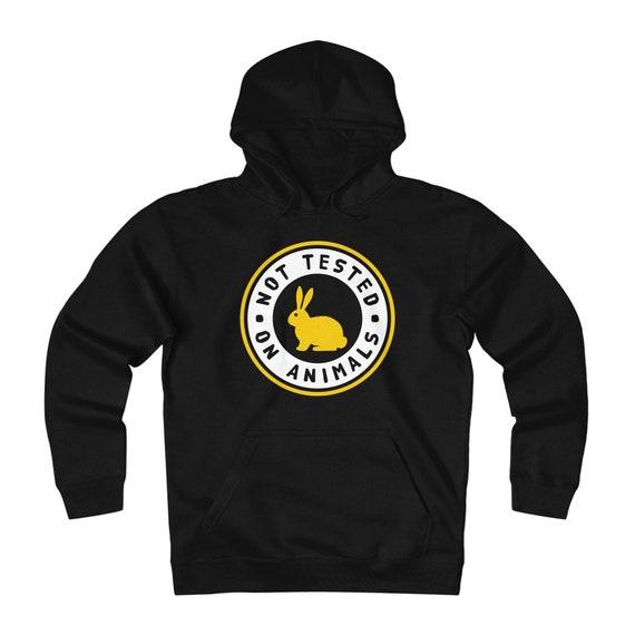 Amoureux des animaux polaire Sweat cadeau à capuche - cadeau Sweat pour les propriétaires d'animaux de compagnie lapin - homme / unisexe 6c3438