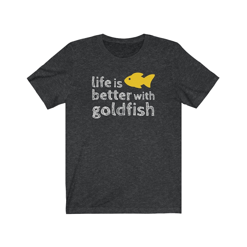 Goldfish Lover T-Shirt Men's Unisex T-Shirt Goldfish image 0