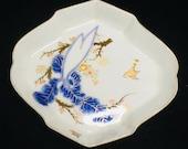 Japaneses Old Imari huge Radish Sometsuke Plate marked Hizen 6 quot
