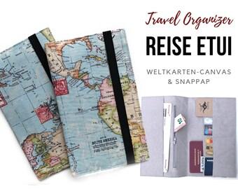 Travel Organizer   World Map   Travel Documents Case   Document Folder   Traveller   Travel Cover   Passport Sleeve   Folder   Map   Canvas