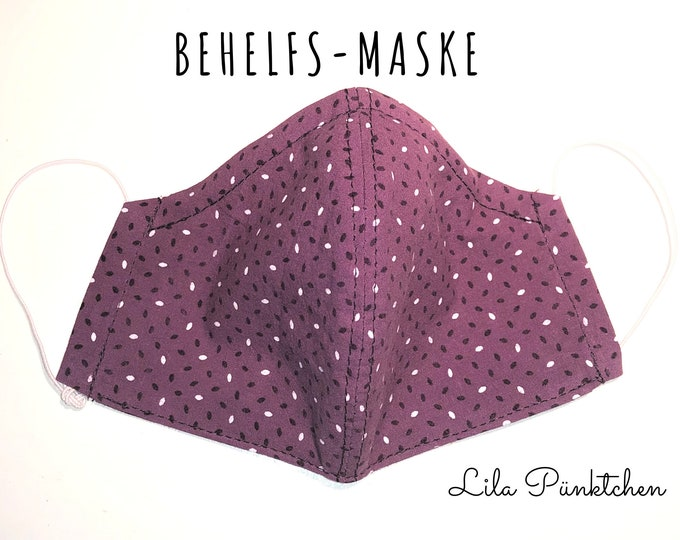 Makeshift Mask | Nose Mouth Mask | Fabric Mask | Mouth covering | Facie | Face Mask | Cotton mask with insert for filters