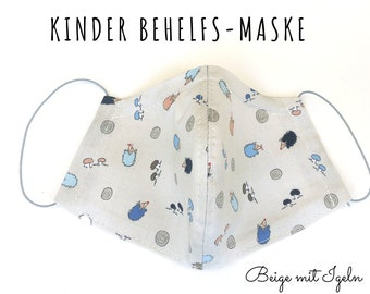 Kids Makeshift Mask | Nose Mouth Mask for Kids | Fabric Mask | Mouth covering | Face Mask | Cotton Mask Toddler | Filter slot