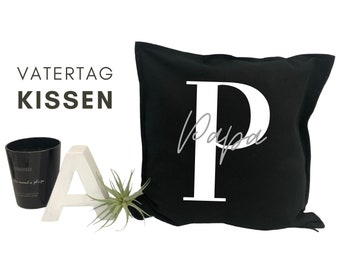 Father's Day Pillow | personalized with name | Pillow cover | Letter | Name cushion | Cushion cover with font | individual gift
