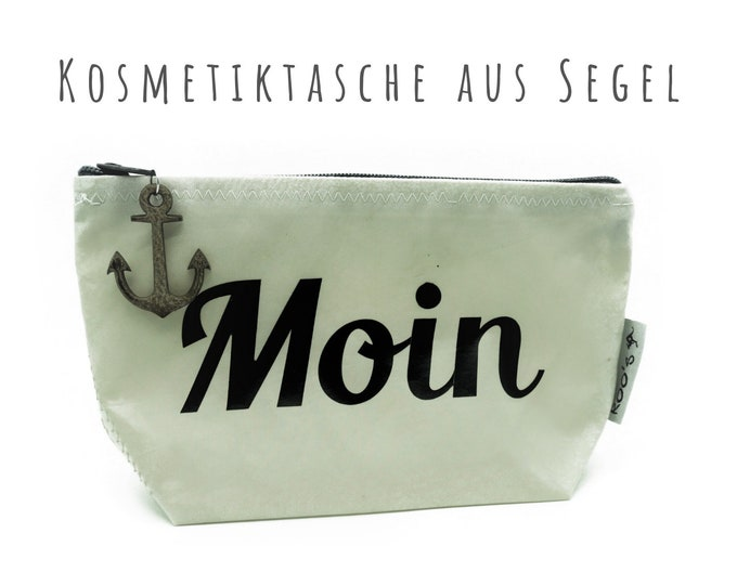 """White Cosmetic Bag from Sail """"Moin"""" 