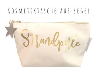"White cosmetic bag from sail ""Beach Pearl"" 