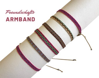 Petite Friendship Ribbons | Mother's Day Gift | Web bracelet | colorfully woven | to move