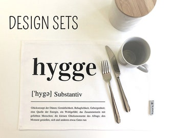 Skandi | Placeset HYGGE | Place | Sets | Place set | Table linen | Cotton | Scandinavian design | Hygge Boho Easter Decoration