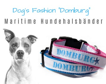 "Maritime Dog Collar ""Domburg"" 
