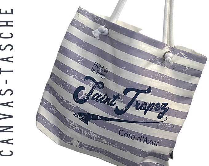"Canvas Bag ""Saint Tropez"" 