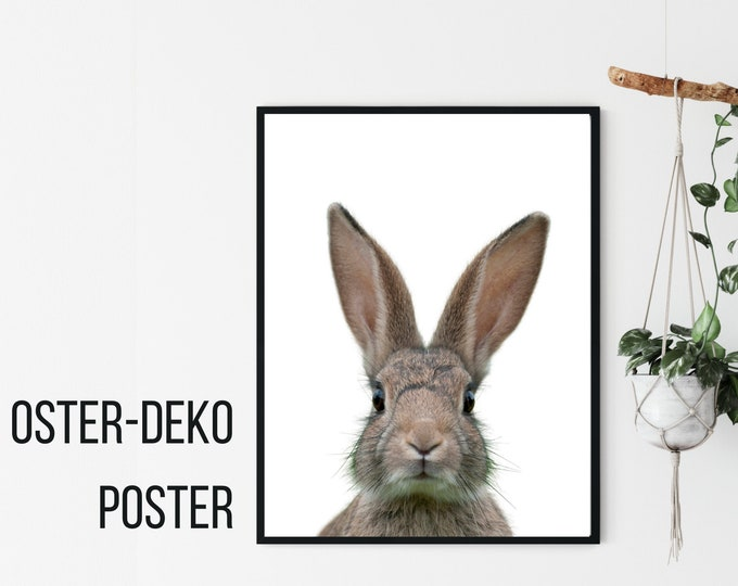 Easter Decoration Poster | Easter Bunny | Pictures individually or in a set | Easter Hygge Skandi | Wall decoration | Bunny | Children's poster | Nursery