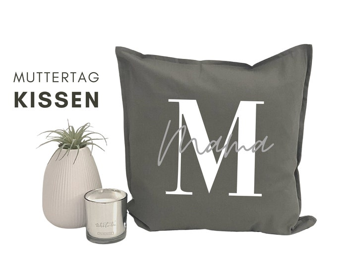 Mother's Day Pillow | personalized with name | Pillow cover | Letter | Name cushion | Cushion cover with font | individual gift