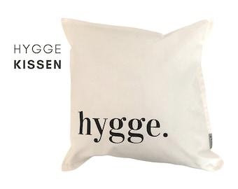 HYGGE | Design Pillow | Cotton pillowcase | Skandi | Nordic style | minimalist decoration