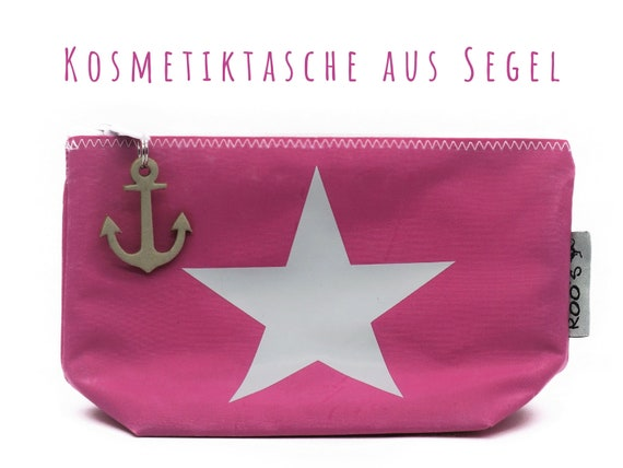 "Pink cosmetics bag from sail ""Star"" 