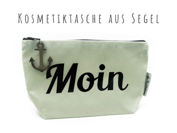 "White Cosmetic Bag from Sail ""Moin"" 