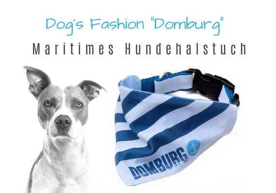 "Maritime Dog Neck Cloth ""Domburg"" 