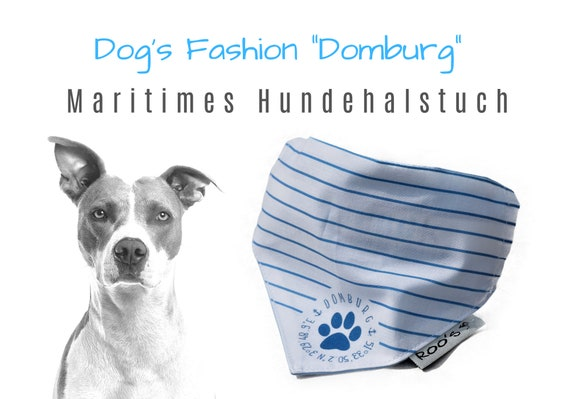 """Maritime Dog Neck Cloth """"Domburg"""" 