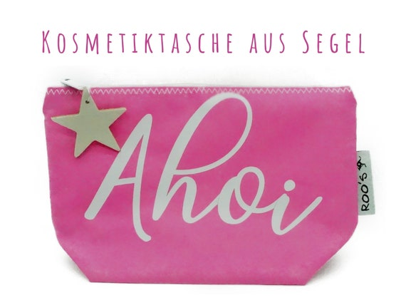 "Pink cosmetics bag from sail ""Ahoi"" 