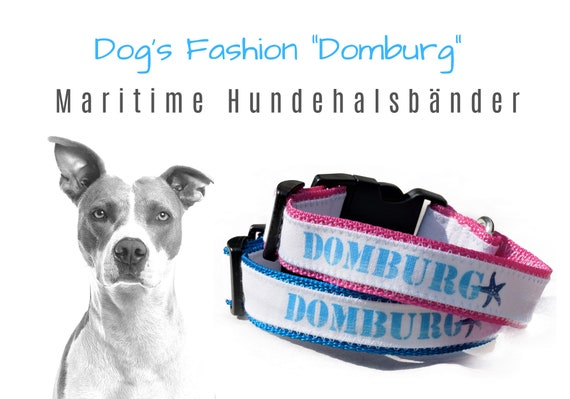 """Maritime Dog Collar """"Domburg"""" 
