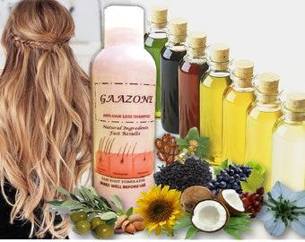 Hair Loss Hair Growth Seven Oils Shampoo Organic Black Seeds Oil Shampoo Olive, Castor, Almond, Coconut, Hair Loss Shampoo