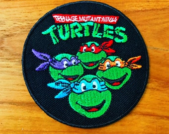 New Teenage Mutant Ninja Turtles Embroidered Iron on Patch
