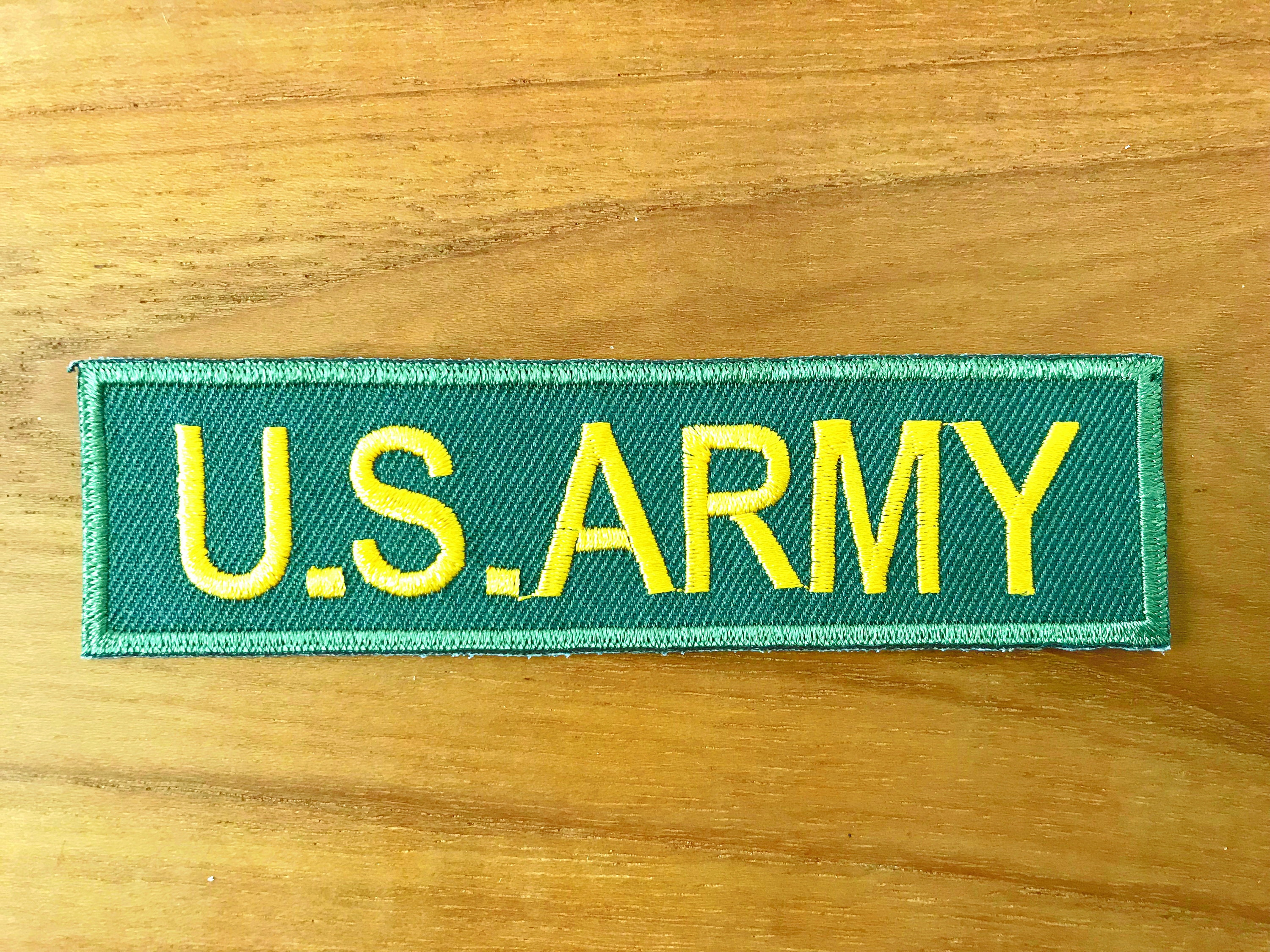 Military Patches Embroidered Badge Iron-on Patch Sew-on For Jeans Coats Bags 1Pc