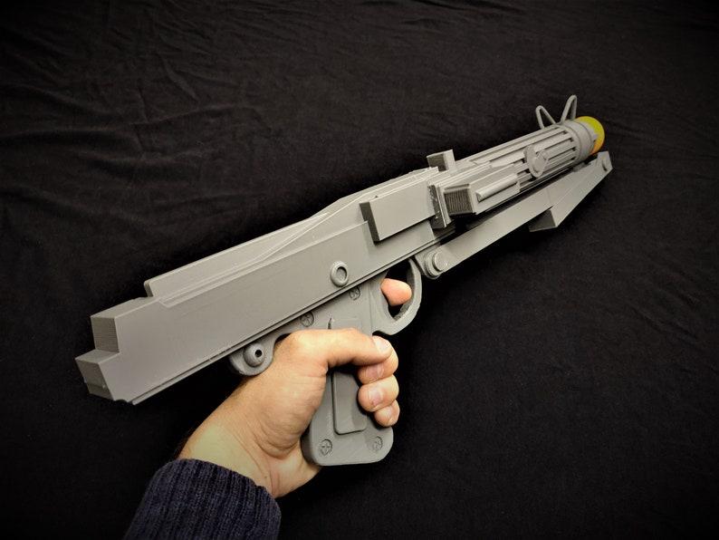 DC-15S Clone Trooper Blaster 3D Printed Star Wars Replica Prop