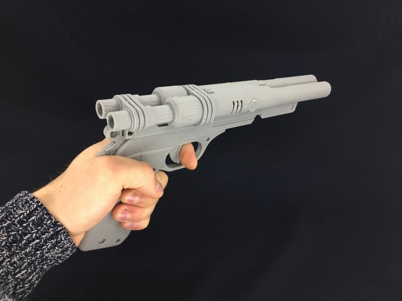 Qi'ra S-195 Blaster from Star Wars Solo 3D Printed