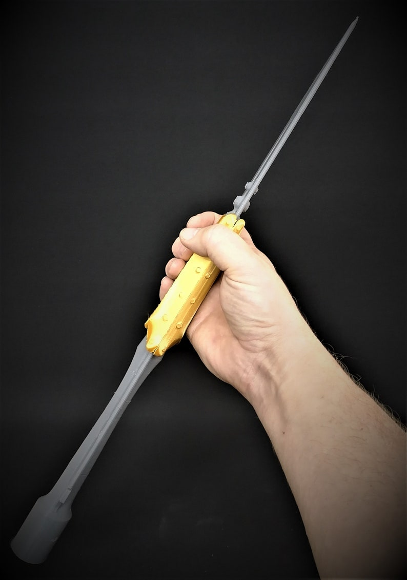 The Holy Spear Holy Lance of Longinus Replica Prop 3D Printed