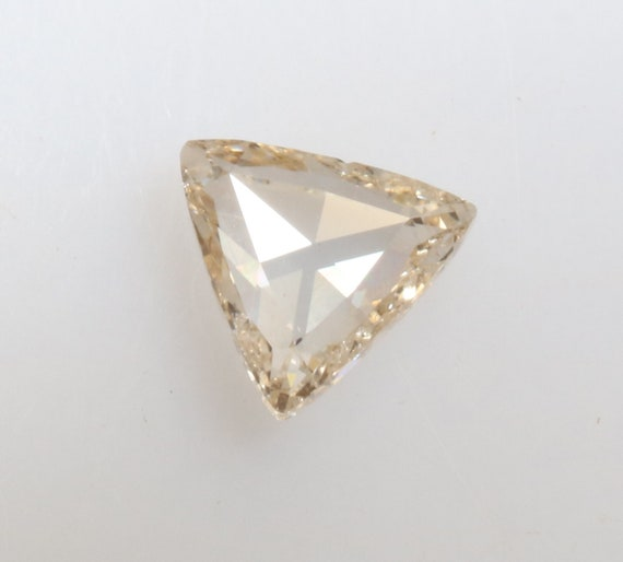 0,13 ct naturel naturel naturel vrac Transparent blanc couleur forme Triangle beau diamant R820 412767