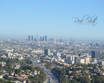 Southward View of LA including Downtown