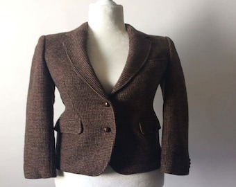 80s wool blazer