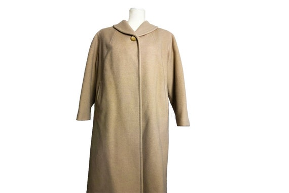 1960s oversized coat