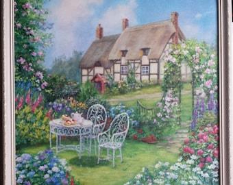 Landscape Blooming Garden