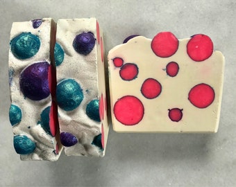 Soap Peppermint Cold Process Soap, Artisan Soap, Handcrafted Soap