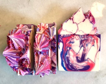 Soap Love Spell Artisan Soap, Cold Process Soap, Handcrafted Soap