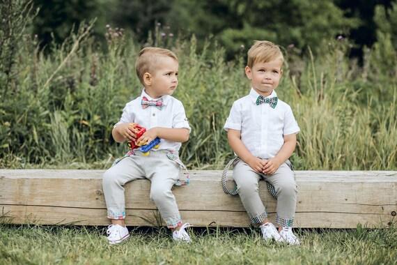 Taufe Outfit Boy Boys Leinen Anzug Baby Hochzeits Outfit Kleinkind Jungen Kleidung