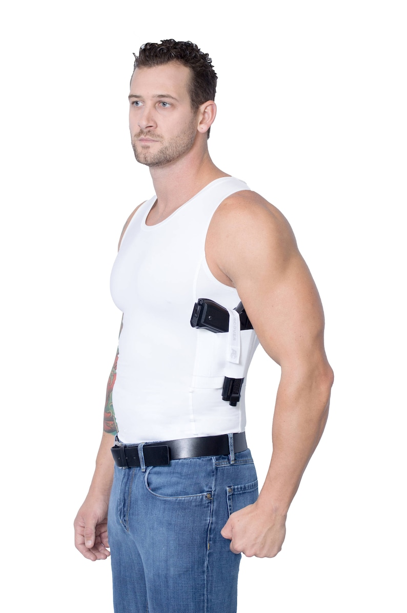 42dea223436cbb AC UNDERCOVER Concealed Carry Tank Top Shirt. Ref 513