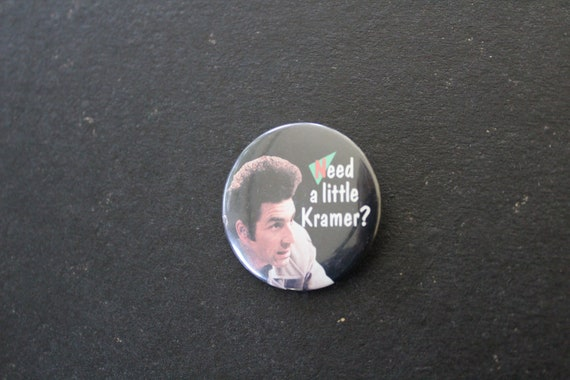 Rare Seinfeld - Need a little Kramer? Pin - Vintag