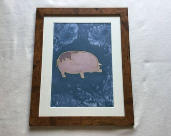 Pot bellied pig (frame not included)
