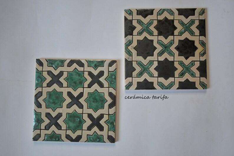Corda geometrica piastrelle piastrelle asciutto arabi etsy