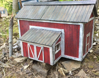 Scratch Built Barn