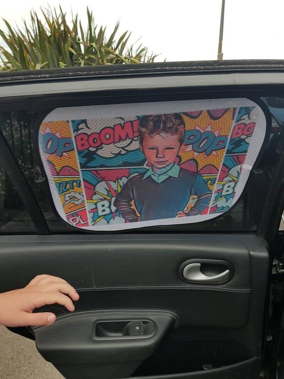 Personalised Car Sun Shade Personalised Photo Sun Shade Etsy