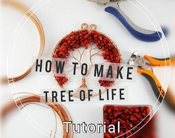 Tree of Life TUTORIAL, How to make your own Tree of Life, Wire Tree