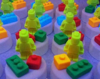 LEGO/Robot Chocolate Covered Oreos/Chocolate Covered Oreos/Party Favors/Treats