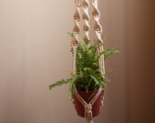 Macrame plant hangers, macrame wall planter indoor outdoor, wall hangings plant holder, rope crochet plant hanger ceiling plant holder, boho